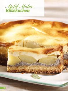 Rezept - Apfel-Mohn-Käsekuchen - Simply Backen Sonderheft Kuchen Äpfel + Pflaumen