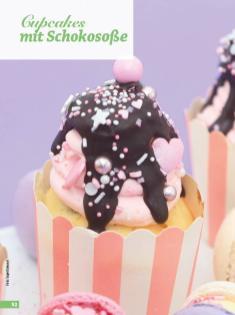 Rezept - Cupcakes mit Schokosoße - Simply Backen - 04/2019
