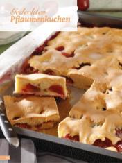 Rezept - Gedeckter Pflaumenkuchen - Simply Backen Sonderheft Kuchen Äpfel + Pflaumen