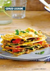 Rezept - Gemüse-Lasagne - Healthy Vegan 05/2019