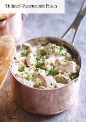 Rezept - Hühner-Pasteten mit Pilzen - Healthy Vegan 05/2019