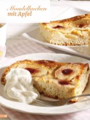 Rezept - Mandelkuchen mit Apfel - Simply Backen Sonderheft Kuchen Äpfel + Pflaumen