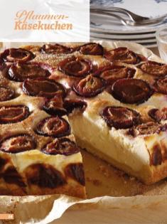 Rezept - Pflaumen-Käsekuchen - Simply Backen Sonderheft Kuchen Äpfel + Pflaumen