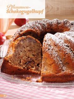 Rezept - Pflaumen-Schokogugelhupf - Simply Backen Sonderheft Kuchen Äpfel + Pflaumen
