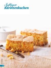 Rezept - Saftiger Karottenkuchen - Simply Backen - 04/2019