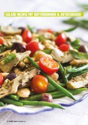 Rezept - Salade Niçoise mit Butterbohnen & Artischocken - Healthy Vegan 05/2019