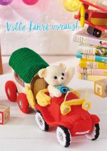 Strickanleitung - Volle Fahrt voraus - Simply Stricken 05/2019