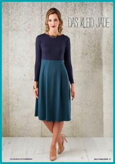 Nähanleitung - Das Kleid Jade - Simply Nähen Best of Kleider