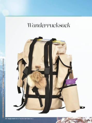 Nähanleitung - Wanderrucksack - Simply Kreativ Best of Taschen-Näh-Ideen Vol. 2