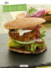 Rezept - Der Ohlala-Burger - Clean Food - olala solala mit Andrea Sokol - 01/2019