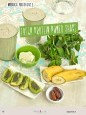 Rezept - Frech-Protein-Power-Shake - Clean Food - olala solala mit Andrea Sokol - 01/2019