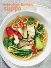 Rezept - Hähnchen-Ramensuppe - Simply Kochen Sonderheft Sommer-Suppen
