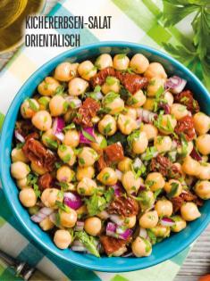 Rezept - Kichererbsen-Salat orientalisch - Bewusst Lowcarb Sonderheft - 02/2019