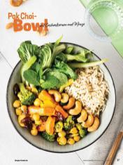 Rezept - Pak-Choi-Bowl mit Cashewkernen und Minze - Simply Kochen Sonderheft Bowls