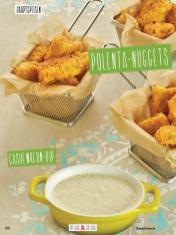 Rezept - Polenta-Nuggets mit Cashewkern-Dip - Clean Food - olala solala mit Andrea Sokol - 01/2019