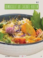 Rezept - Quinoasalat auf Chicoree-Booten - Clean Food - olala solala mit Andrea Sokol - 01/2019
