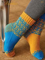Strickanleitung - Bertha - Simply Kreativ - Best of Socken Stricken - 01/2019