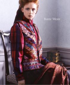Strickanleitung - Bunte Weste - Designer Knitting - 05/2019