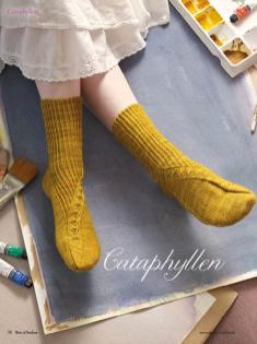 Strickanleitung - Cataphyllen - Simply Kreativ - Best of Socken Stricken - 01/2019