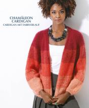 Strickanleitung - Chamäleon Cardigan - Cardigan mit Farbverlauf - Designer Knitting - 05/2019