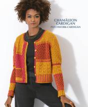 Strickanleitung - Chamäleon Cardigan - Patchwork Cardigan - Designer Knitting - 05/2019