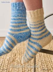 Strickanleitung - Endlose Streifen - Simply Kreativ - Best of Socken Stricken - 01/2019