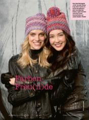 Strickanleitung - Farben-Freunde - Simply Stricken Mützenspecial - Mützen und Accessoires stricken - 01/2019