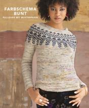 Strickanleitung - Farbschema Bunt - Pullover mit Musterpasse - Designer Knitting - 05/2019