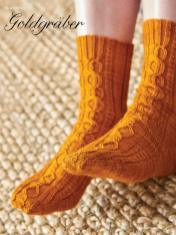 Strickanleitung - Goldgräber - Simply Kreativ - Best of Socken Stricken - 01/2019