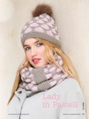 Strickanleitung - Lady in Pastell - Simply Stricken Mützenspecial - Mützen und Accessoires stricken - 01/2019