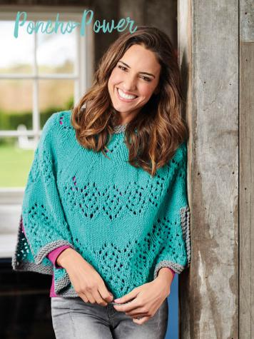 Strickanleitung - Poncho-Power - Simply Kreativ – Best of Simply Stricken Accessoires