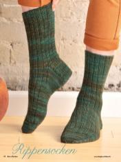 Strickanleitung - Rippensocken - Simply Kreativ - Best of Socken Stricken - 01/2019