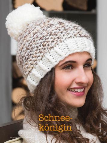 Strickanleitung - Schneekönigin - Simply Stricken Mützenspecial - Mützen und Accessoires stricken - 01/2019