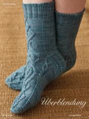 Strickanleitung - Überblendung - Simply Kreativ - Best of Socken Stricken - 01/2019