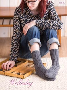 Strickanleitung - Wellesley - Simply Kreativ - Best of Socken Stricken - 01/2019