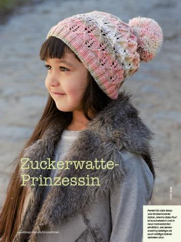 Strickanleitung - Zuckerwatte-Prinzessin - Simply Stricken Mützenspecial - Mützen und Accessoires stricken - 01/2019