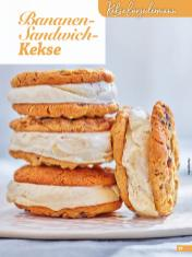 Rezept - Bananen-Sandwich-Kekse - Simply Kreativ Glutenfrei Weihnachtsbacken – 01/2019