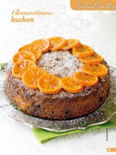 Rezept - Clementinenkuchen - Simply Backen Special Weihnachtskuchen