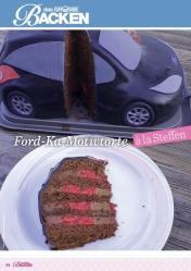 Rezept - Ford-Ka-Motivtorte - Das große Backen 06/2019