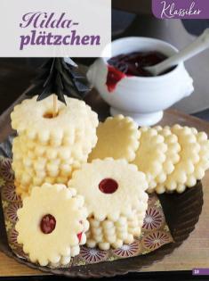 Rezept - Hildaplätzchen - Simply Kreativ Glutenfrei Weihnachtsbacken – 01/2019