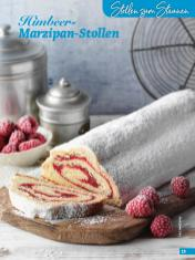 Rezept - Himbeer-Marzipan-Stollen - Simply Backen Special Weihnachtskuchen