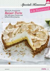 Rezept - Klassische französische Baiser-Torte mit süß-saurer Limette und luftigem Baisertopping - Das große Backen 06/2019