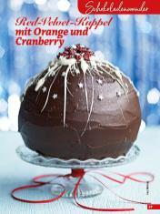 Rezept - Red-Velvet-Kuppel mit Orange und Cranberry - Simply Backen Special Weihnachtskuchen