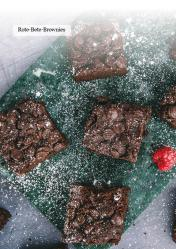 Rezept - Rote-Bete-Brownies - Healthy Vegan 06/2019