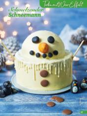 Rezept - Schmelzender Schneemann - Simply Backen Special Weihnachtskuchen