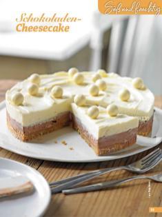 Rezept - Schokoladen-Cheesecake - Simply Backen Special Weihnachtskuchen