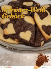 Rezept - Schwarz-Weiß-Gebäck - Simply Backen Plätzchen backen mit Tommy Weinz 04/2019