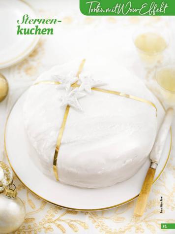 Rezept - Sternenkuchen - Simply Backen Special Weihnachtskuchen