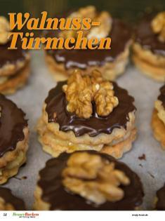 Rezept - Walnuss-Türmchen - Simply Backen Plätzchen backen mit Tommy Weinz 04/2019