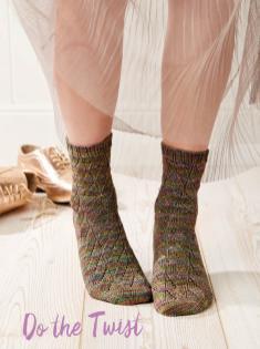 Strickanleitung - Do the Twist - Simply Kreativ – Best of Simply Stricken Socken